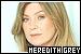 Gray's Anatomy: Meredith