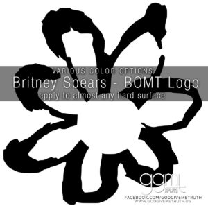Britney Spears - Pop Music - Vinyl Decal -  Baby One More Time - GodGiveMeTruth