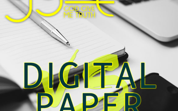 Planning 101 : Paper Vs. Digital